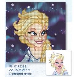 Diamond painting disney - Elsa 22x22cm