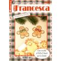 RIVISTA LE IDEE DI FRANCESCA - PUNTO CROCE PER LE FESTE - 5 COPIE+2 OMAGGIO