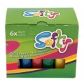 "PASTA MODELLABILE ""SOFTY"" - 6 PEZZI x62 GR."