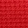 TELA AIDA 55 FORI  CM.150 - COTONE 100% - ROSSO